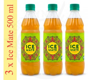 3 x ICE MATE 500 ml [grejpfrutowa]