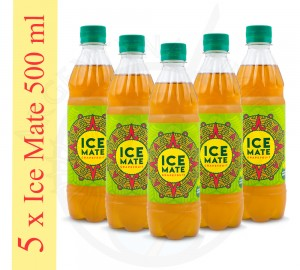 5 x ICE MATE 500 ml [grejpfrutowa]