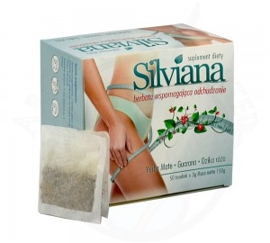 herbatka odchudzająca, odchudzanie Yerba Mate SILVIANA 50 torebek